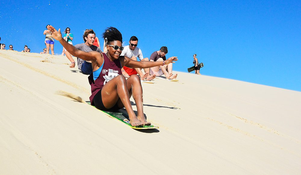 Australia-Gap-Year-Oz Gap Year Tour Sandboarding Working Holiday Package in Australia Work and Travel in Sydney and Find Paid Work Down Under-Aussie-Adventure-Working Holiday Sydney-Grabatour-Travel