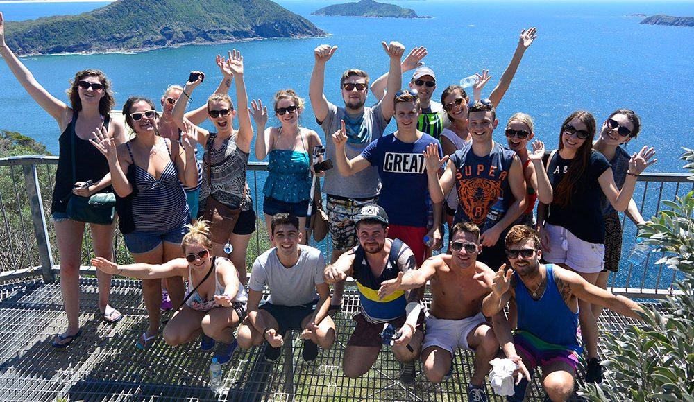 Sydney Trip Working Holiday Tour in Sydney Australia Gap Year Tour and Adventure Down Under Port Stephen Trip Gap Year Tours in Sydney Best Small Group Tours in Sydney Australia Grabatour Travel
