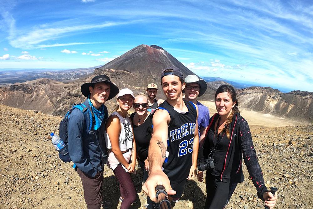 NZ Tongariro-Crossing-Mount-Doom-New-Zealand-Adventure-Tour-Northern-Adventure-Tour-New-Zeland-Tours-NZ-Travel-Kiwi-Small-Group-Tours-Gap-Year-Tour-in-New-Zeland-Grabatour-Travel
