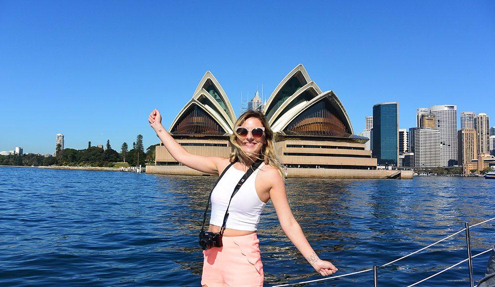 Sydney Adventure Oz Adventure Sydney Harbour Gap Year Adventure Travel in Sydney Australia Epic Adventure on a Gap Year or Working Holiday Grabatour Travel